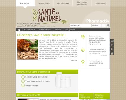 Pharmacie De La Sabliere, 44260 La Chapelle...