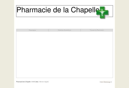 Pharmacie de la Chapelle