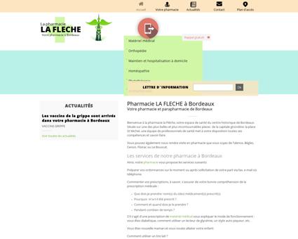Pharmacie LA FLECHE à Bordeaux Votre...