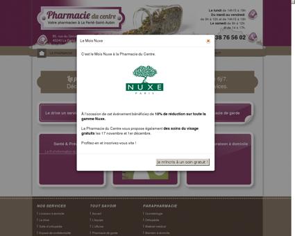 Pharmacie du Centre à la Ferté Saint Aubin,...