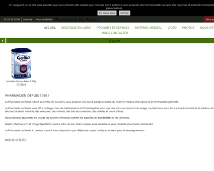 Accueil - Pharmacie du Parvis - Vente,...
