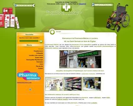 Pharmacie Mahieu Louviers Eure -...