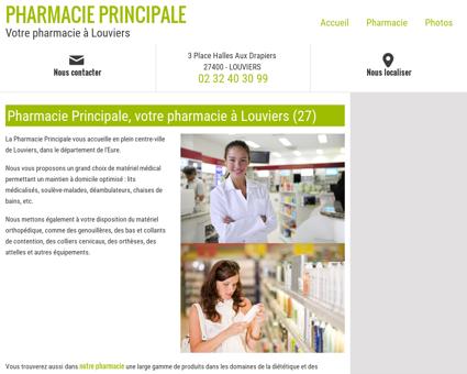Pharmacie Principale, votre pharmacie à...