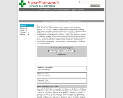 Pharmacies, pharmacie de garde - Isle...