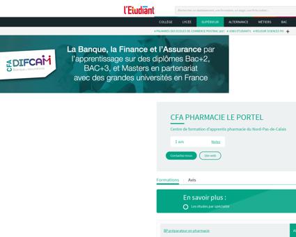 CFA pharmacie Le Portel, Le Portel (62) -...