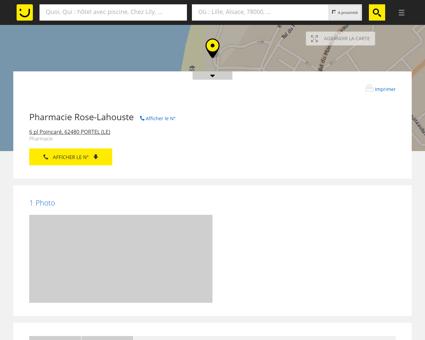 Pharmacie Rose-Lahouste Le Portel (adresse,...