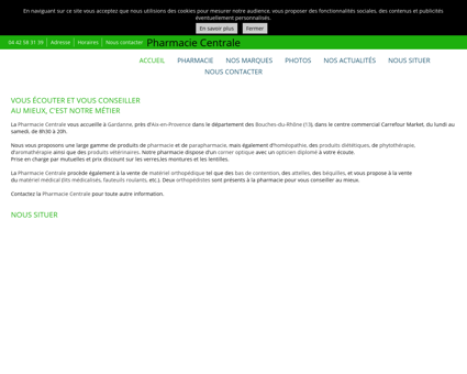 Orthopédie - Pharmacie Centrale à Gardanne