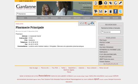 Pharmacie Principale - Ville de Gardanne