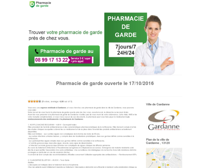Pharmacie de garde à Gardanne | Trouver une...