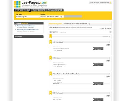 Pharmacie garde GARDANNE - L'annuaire de...