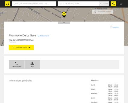 Pharmacie De La Gare Franconville (adresse,...