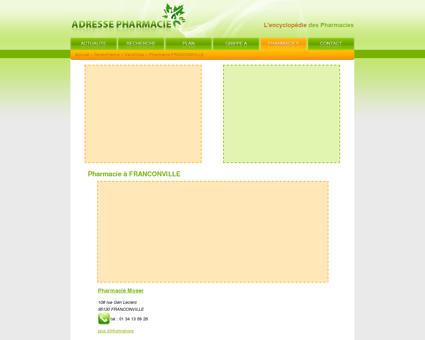 Pharmacie à FRANCONVILLE - Pharmacie :...