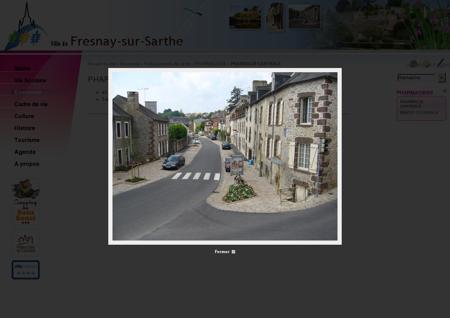 PHARMACIE CENTRALE - Fresnay sur Sarthe
