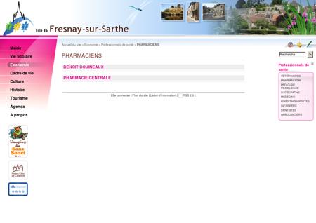PHARMACIENS - Fresnay sur Sarthe