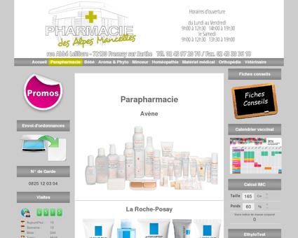 Pharmacie des Alpes Mancelles - Parapharmacie
