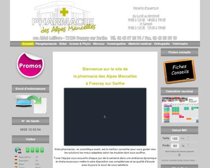 Pharmacie des Alpes Mancelles à Fresnay sur...