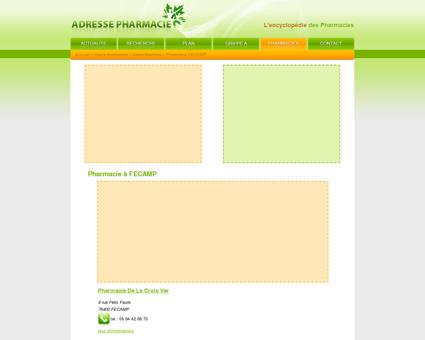 Pharmacie à FECAMP - Pharmacie : l'adresse...