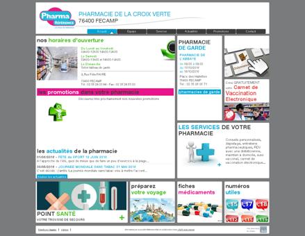 pharmacie de la croix verte - Votre pharmacie...