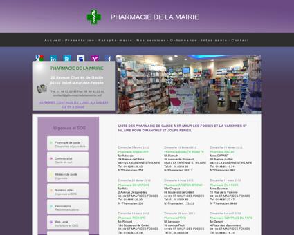 pharmacie de garde, Pharmacie Saint Maur...