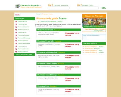 Pharmacie Fronton