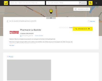 Pharmacie La Bastide Léguevin (adresse,...
