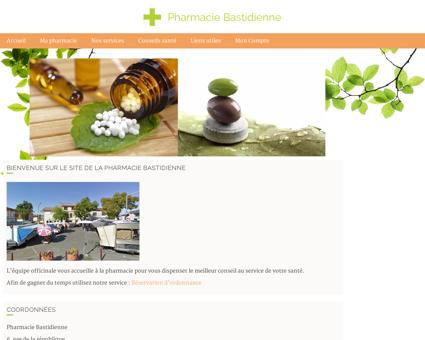 Pharmacie Bastidienne - Accueil