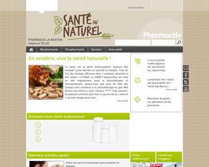 Pharmacie La Bastide, 31490 Léguevin - Votre...