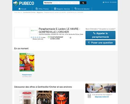Parapharmacie E.Leclerc LE HAVRE -...