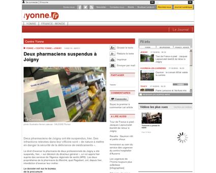 www.lyonne.fr - Centre Yonne - JOIGNY...