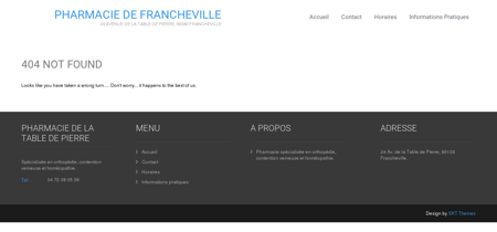 Accueil - Pharmacie Francheville 69340