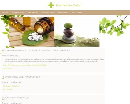 Pharmacie Galan - Fil santé