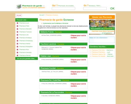 Pharmacie Gonesse