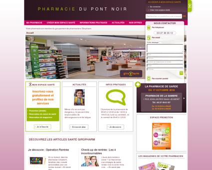 Pharmacien Giropharm  DU PONT NOIR...