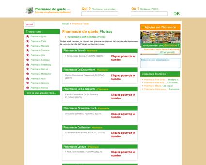 Pharmacie Floirac
