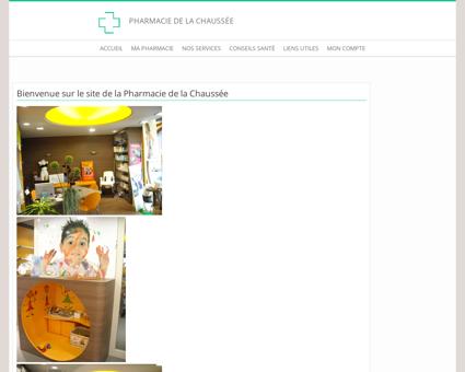Pharmacie de la Chaussée - Accueil