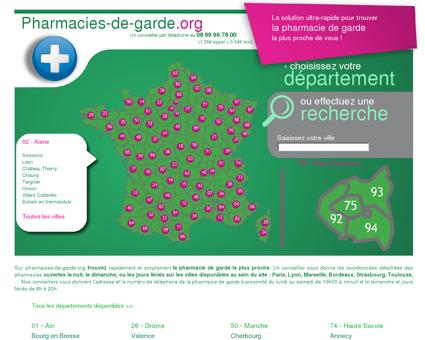 Trouvez la pharmacie de garde à Chauny...