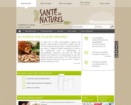 Pharmacie Chanel, 01400 CHÂTILLON SUR...
