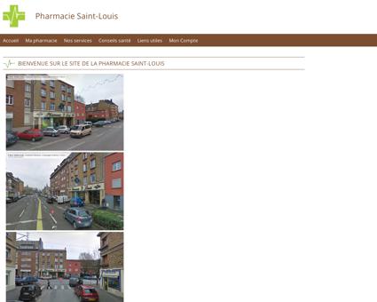 Pharmacie Saint-Louis - Accueil