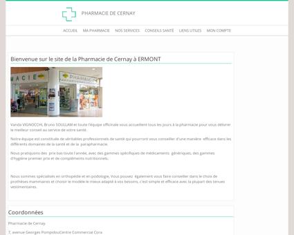 Pharmacie de Cernay - Accueil