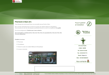 Pharmacie Chenove - PHARMACIE RUSSO :...