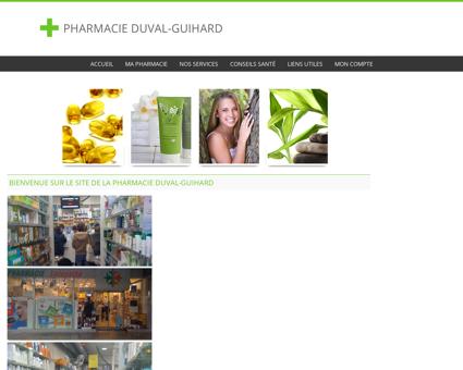 Pharmacie Duval-Guihard - Accueil