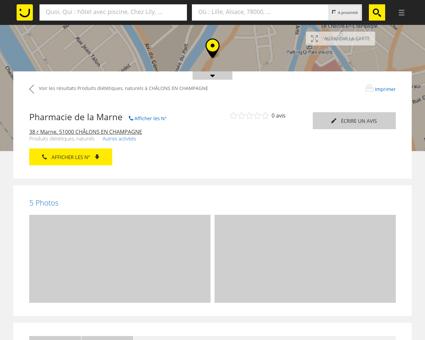 Pharmacie de La Marne Châlons en...