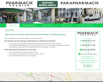 Pharmacie Pradier Castelnaudary ...