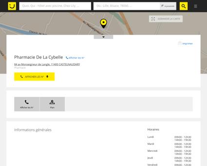 Pharmacie De La Cybelle Castelnaudary...
