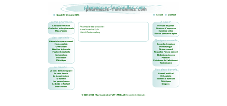 Pharmacie des fontanilles