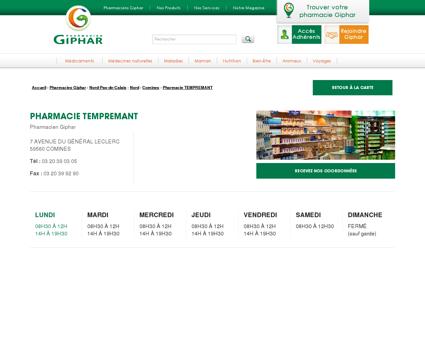 Pharmacie tempremant, COMINES, 59560