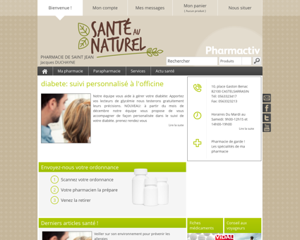 Pharmacie De Saint Jean, 82100...