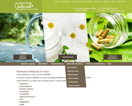 Pharmacie Cestas (33)- Pharmacie O Naturel
