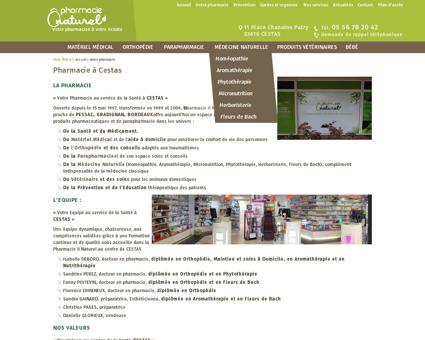 Pharmacie, parapharmacie Cestas, Gradignan,...