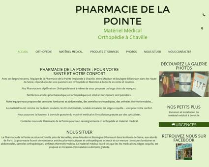 Pharmacie de la Pointe à Chaville dans les...